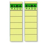 Elba Spine Label for Lever Arch Files 190 x 59 mm Buff | Dodax.ch