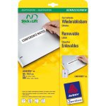 Avery Removable Labels 96 x 16,9mm (25) | Dodax.de