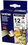 Brother Fabric Labelling Tape - 12mm, Blue/White TZ label-making tape | Dodax.co.uk