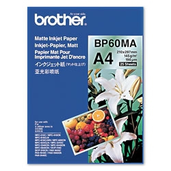 Brother BP60MA Inkjet Paper A4 (210×297 mm) Matt Weiß Druckerpapier | Dodax.at