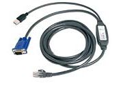 Avocent USB CAT 5 integrated access cable 3m | Dodax.ch