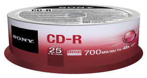 Sony 25CDQ80SP CD-Rohling | Dodax.at