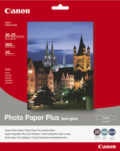 Canon SG-201 - 20x25cm Photo Paper Plus, 20 sheets photo paper | Dodax.co.uk