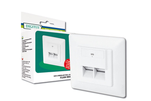 Digitus Modular Wall Outlet CAT6 | Dodax.at
