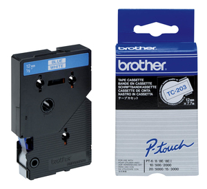 Brother Labelling Tape 12mm | Dodax.co.uk