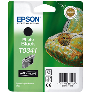 Epson Singlepack Black T0341 Ultra Chrome | Dodax.co.uk