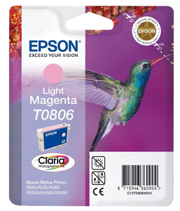 Tinte Epson C13T080640 light magenta, 7.4ml | Dodax.at