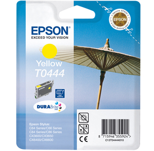 Epson Singlepack Yellow T0444 DURABrite Ink High Capacity | Dodax.co.uk
