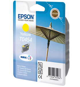 Epson Singlepack Yellow T0454 DURABrite Ink | Dodax.co.uk