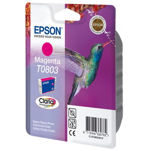Tinte Epson C13T080340 magenta, 7.4ml | Dodax.at