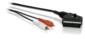 Philips SWA2051W 1,5 m Stereo Audio Scart cable | Dodax.ch