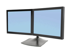 Ergotron DS Series DS100 Dual Monitor Desk Stand, Horizontal | Dodax.ch