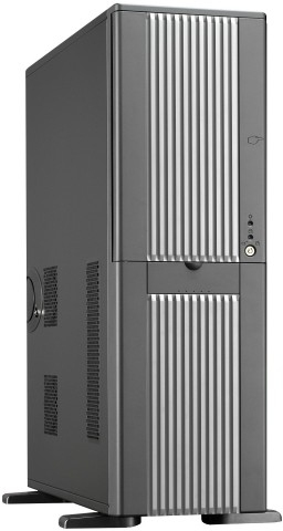 Chieftec Uni Bigtower, Black/Silver (without PSU) | Dodax.at