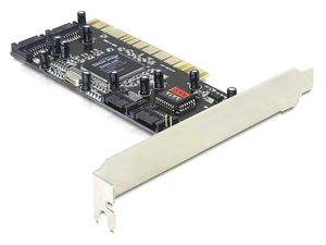 DeLOCK Controller SATA, 4 port w/ Raid | Dodax.at