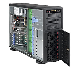 Supermicro SuperChassis 743TQ-865B, Black | Dodax.at