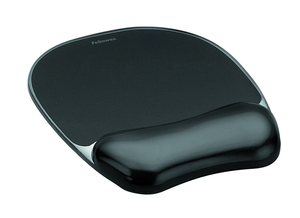 Fellowes - Mouse Pad, Black (9112101) | Dodax.at