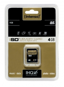 Intenso 4 GB SDHC High Capacity 4GB SDHC Speicherkarte | Dodax.at