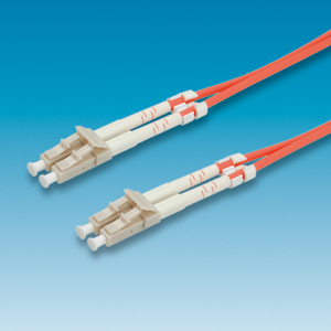 ROLINE LWL-Kabel 62,5/125µm LC/LC, orange 3m | Dodax.at