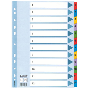 Esselte Mylar Indices & Dividers | Dodax.ch