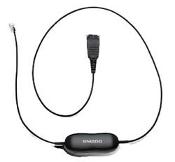 Jabra - Telephony Cable GN1200, 80 cm (88001-99) | Dodax.ch