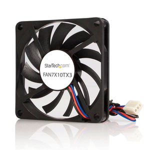 StarTech.com Ventilateur PC à Double Roulement à Billes - Alimentation TX3 - 70 mm | Dodax.fr