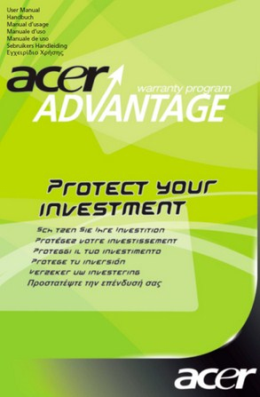 Acer Advantage 3 Years | Dodax.at