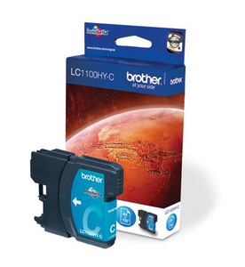 Tinte Brother LC-1100HYC, cyan   Dodax.at