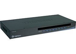Trendnet TK-804R 8-Port USB/PS/2 Rack Mount KVM Switch w/ OSD | Dodax.es