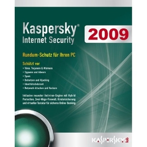 Kaspersky Internet Security 2009, CD-ROM in Mini-Box | Dodax.at