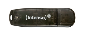 Intenso USB Drive 16 GB Rainbow Line, Black 16Go mémoire flash | Dodax.fr