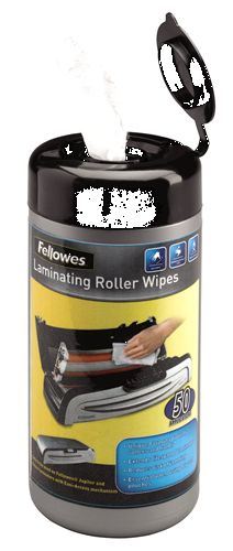 Fellowes 5703701 disinfecting wipes | Dodax.co.uk
