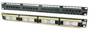 M-Cab Patch Panel CAT 6, 24 Port | Dodax.ch