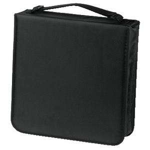Hama CD Wallet Nylon 208, black | Dodax.ch