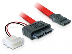 DeLOCK Cable SATA Slimline female + 2pin power > SATA | Dodax.at