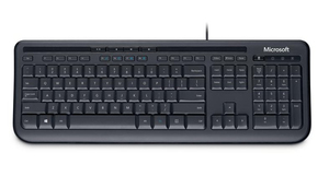 Microsoft Wired Keyboard 600, DE | Dodax.ch