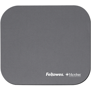 Fellowes - Microban Mouse Pad,  Silver (5934005) | Dodax.co.uk