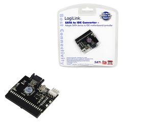 LogiLink Adapter S-ATA to IDE + IDE to S-ATA (AD0008)