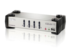 Aten CS1734B: VGA KVM Switch, 4Port | Dodax.ch