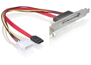 DeLOCK Slot bracket SATA / SATA 22 pin | Dodax.at