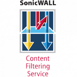 DELL- SonicWALL, Content Filtering Service (TZ 100 Series) | Dodax.ch