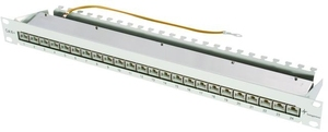 Telegärtner 19-inch Patch Panel MPP24-HS K Cat.6A | Dodax.at