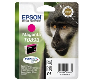 Epson Singlepack Magenta T0893 DURABrite Ultra Ink | Dodax.co.uk