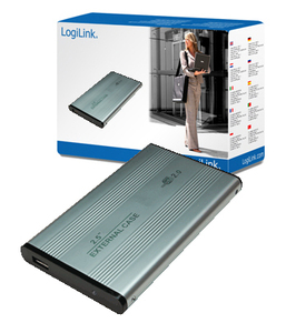 "LogiLink 2.5"" IDE HDD Enclosure USB powered 