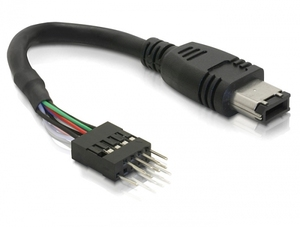 FireWire IEEE 1394A Pfostenstecker 6Pin | Dodax.at