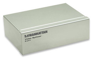 Manhattan 2-Port Video Splitter | Dodax.de