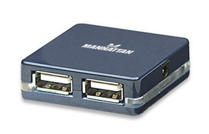 Manhattan Hi-Speed USB 2.0 Micro Hub | Dodax.co.jp