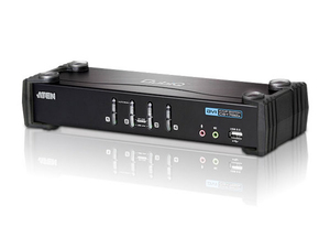 Aten CS1764A: DVI KVM Switch, 4Port | Dodax.ch