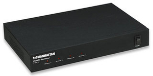 Manhattan 4-port HDMI Splitter | Dodax.ch