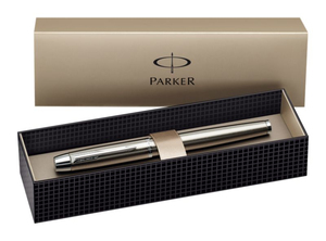 Parker IM Brushed metal Rollerball | Dodax.ch