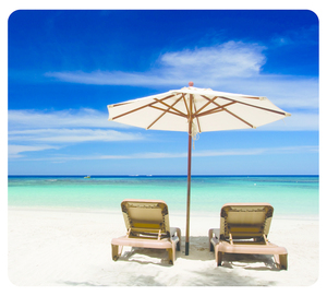 Fellowes-   Mouse Pad, Earth Series Beach Chairs (5909501) | Dodax.at